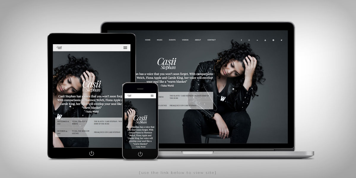 Casii Stephan Website